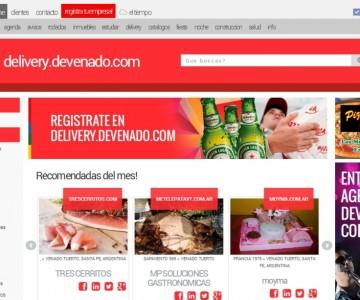 DELIVERY.DEVENADO.COM en Venado Tuerto