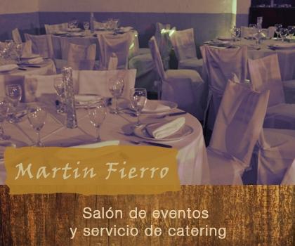 publicidad MARTIN FIERRO