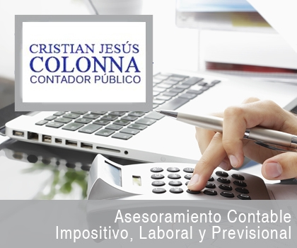 publicidad  CRISTIAN JESUS COLONNA CONTADOR