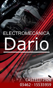 publicidad ELECTROMECANICA DARIO