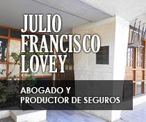 publicidad DR. JULIO F. LOVEY
