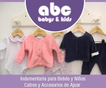 publicidad ABC BABYS AND KIDS
