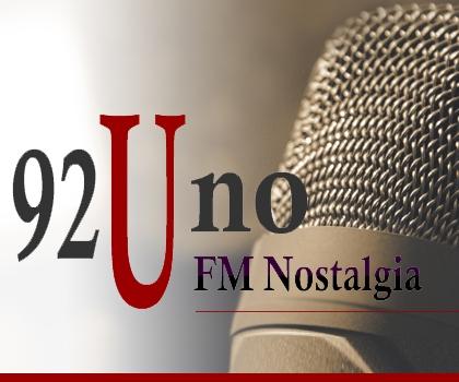 publicidad FM NOSTALGIA FM 92.1