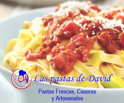 publicidad LAS PASTAS DE DAVID
