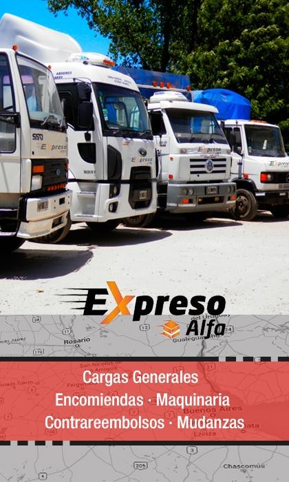 publicidad EXPRESO ALFA