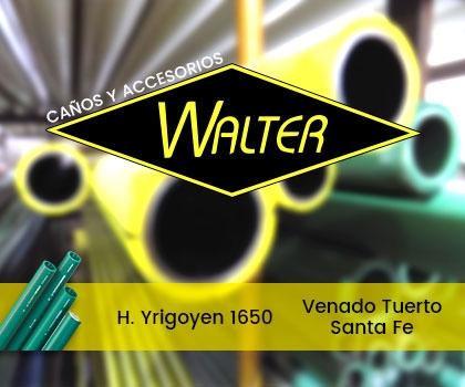 publicidad CAÑOS Y ACCESORIOS WALTER